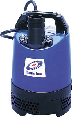 鶴見製作所 一般工事排水用水中ハイスピンポンプLB型 非自動運転形 三相200V 60Hz 吐出量:120、全揚程:8.0m、口径:50mm