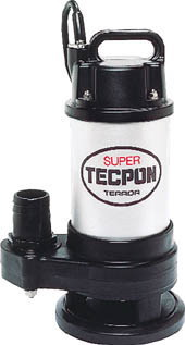 寺田ポンプ製作所 汚物混入水用水中ポンプ スーパーテクポン 非自動運転形 三相200V 60Hz 吐出量:150、全揚程:5.5m、口径:50mm