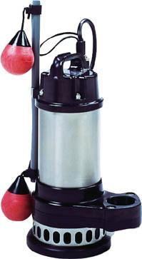 寺田ポンプ製作所 汚物混入水用水中ポンプ スーパーテクポン 自動運転形 三相200V 60Hz 吐出量:240、全揚程:7.0m、口径:50mm