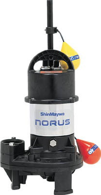 新明和工業 高機能樹脂ポンプ 自動運転形 電源コード5m 三相200V 50/60Hz 吐出量:220、全揚程:9.2/9.4m、口径:50mm