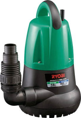 RYOBI(リョービ) 水中汚水ポンプ 非自動運転形 電源コード5m 単相100V 50Hz 吐出量:220、全揚程:9.0m、口径:32/40/50mm