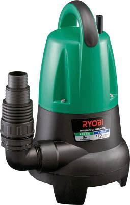 RYOBI(リョービ) 水中汚水ポンプ 非自動運転形 電源コード5m 単相100V 60Hz 吐出量:170、全揚程:6.0m、口径:32/40/50mm