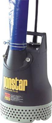 工進 汚水用水中ポンプ ポンスター 非自動運転形 電源コード5m 単相100V 60Hz 吐出量:240/260、全揚程:10m、口径:40/50mm