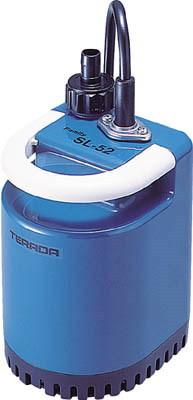 寺田ポンプ製作所 清水用水中ポンプ 非自動運転形 電源コード3.5m 単相100V 50/60Hz 吐出量:70、全揚程:2.2/2.6m、口径:25mm