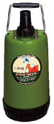 寺田ポンプ製作所 ファミリー水中ポンプ 非自動運転形 電源コード4m 単相100V 60Hz 吐出量:75、全揚程:5.0m、口径:32mm
