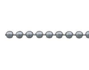 ニッサチェイン 真鍮クロームボールチェーン 5.0径×30m巻き