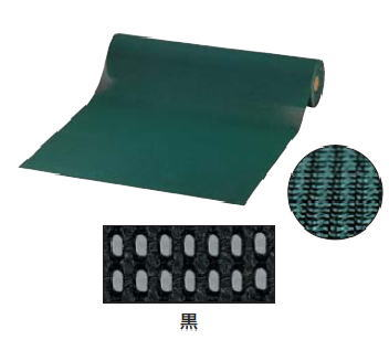 トーワ ロールマット 耐油ダイヤマット 920mm×10m 黒色