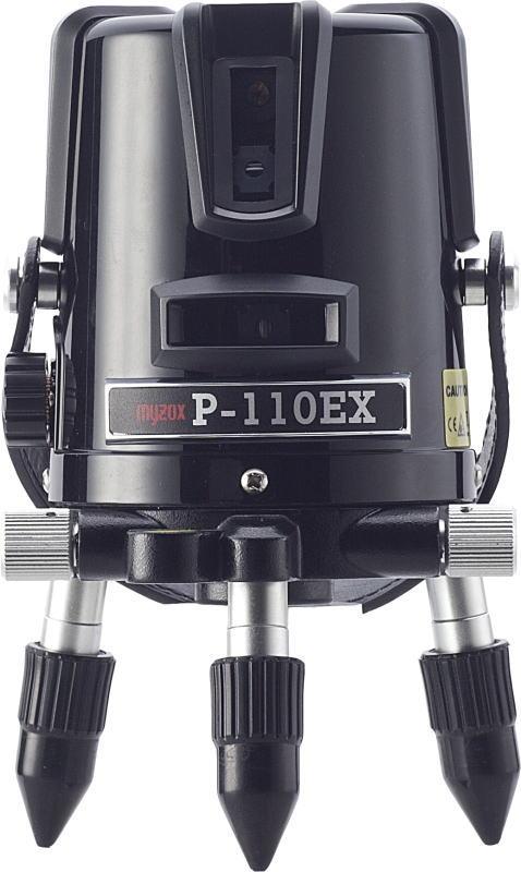 マイゾックス レーザー墨出器 (縦:1方向・横:1方向・地墨) P-110EX
