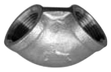 ステンレス製 ねじ込み管継手 45°エルボ 100A(4B)