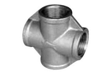 ステンレス製 ねじ込み管継手 クロス 50A(2B)
