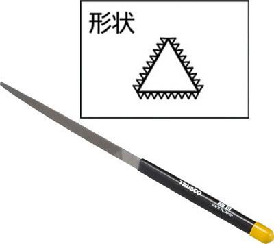 TRUSCO(トラスコ)三角ヤスリセット 細目 全長170 12本組