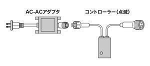 LEDピカライン(ローボルト24V) コントローラーセットPLD-C60-01P