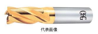 【2019春夏新作】 OSG HSSラフィングエンドミル 6枚刃 刃長ショート TiNコーティング 30×45×121mm シャンク径:25mm:工具のお店 モンジュSHOP-DIY・工具