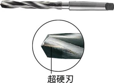 フクダ精工 超硬チップ付テーパーシャンクドリル 20.5×110×210mm MT2シャンク