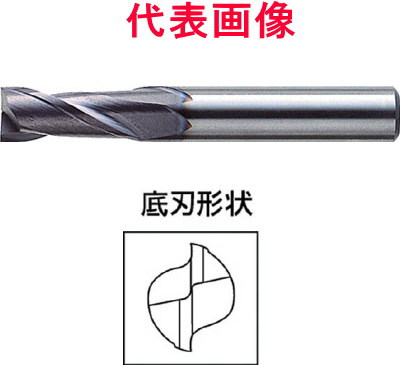 三菱マテリアル ミラクルエンドミル 2枚刃:刃長ミディアム 18.0×32.0×90mm シャンク径:16mm