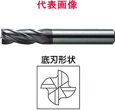 三菱マテリアル ミラクルエンドミル 4枚刃:刃長ミディアム 11.0×22×75mm シャンク径:12mm