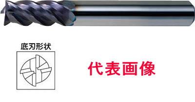 三菱マテリアル インパクトミラクルエンドミル 4枚刃:VFMHV 6.0×13×50mm シャンク径:6mm