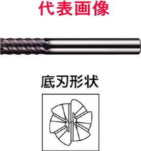 三菱マテリアル インパクトミラクルエンドミル 6枚刃:VFMD 3.0×10.0×60mm シャンク径:6mm