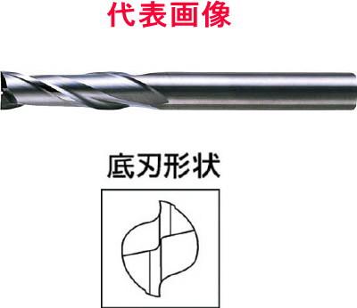 三菱マテリアル 超硬エンドミル 2枚刃:ロングタイプ 25.0×75.0×140mm シャンク径:25mm