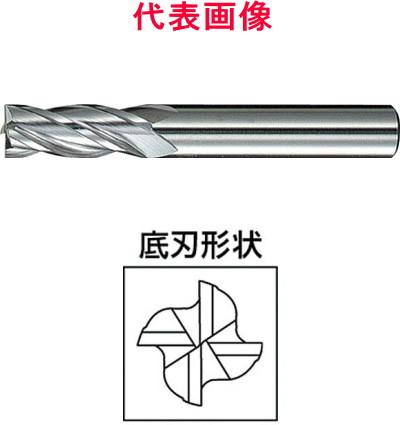 三菱マテリアル 超硬エンドミル 4枚刃:ミディアムタイプ 16.0×32×90mm シャンク径:16mm
