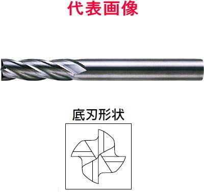 三菱マテリアル 超硬エンドミル 4枚刃:セミロングタイプ 14.0×40×110mm シャンク径:16mm
