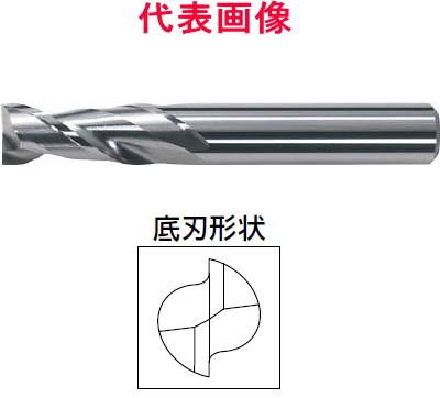三菱マテリアル アルミ用超硬エンドミル 2枚刃:ミドルタイプ 14.0×26.0×75mm シャンク径:12mm