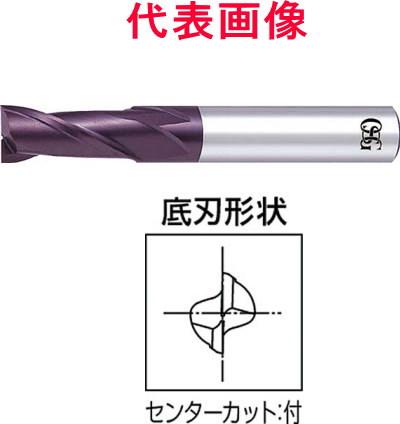 OSG WXコートエンドミル 2枚刃:刃長ショート 12.0×26.0×75mm シャンク径:12mm