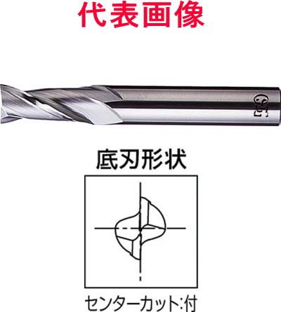 OSG 超硬エンドミル 2枚刃:刃長:ショートタイプ 14.0×26.0×85mm シャンク径:12mm