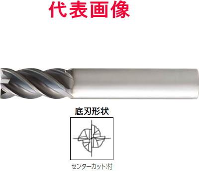 大見工業 超硬エンドミル 不等ピッチ不等リード 4枚刃:刃長ショート 10×20×70mm シャンク径:10mm