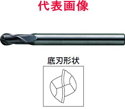 三菱マテリアル 超硬ボールエンドミル ミラクルエンドミル 2枚刃 刃長ミディアム 6.00×22.0×110mm シャンク径:12mm