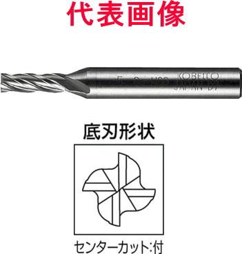 三菱マテリアル HSSエンドミル 4枚刃 刃長ロング 29×90×160mm シャンク径:25mm