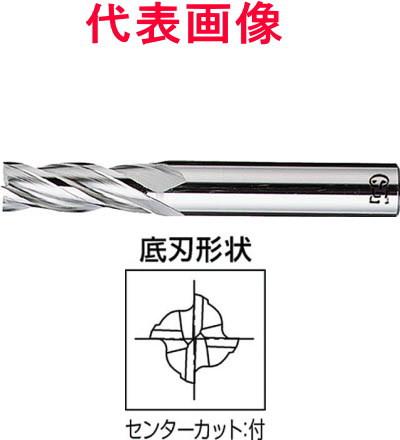 OSG HSSエンドミル センターカットエンドミル 4枚刃 刃長ショート 33.0×60×145mm シャンク径:32mm
