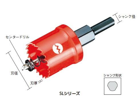国内最安値! 大見工業 SLホールカッター 刃径:120mm、有効長:3.2mm ・n厚:1.27mm、シャンク径:13mm:工具のお店 モンジュSHOP-DIY・工具