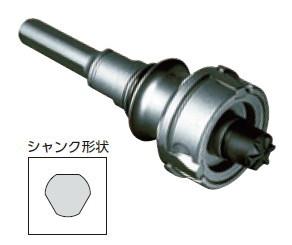ミヤナガ 替刃式 ポリクリックシャンク 刃先径:50~220mm シャンク径:13mm