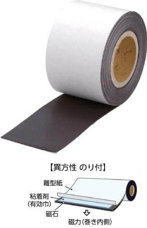 TRUSCO(トラスコ)マグネットロール(のり付)巾520mm×長さ5m 厚み0.6mm