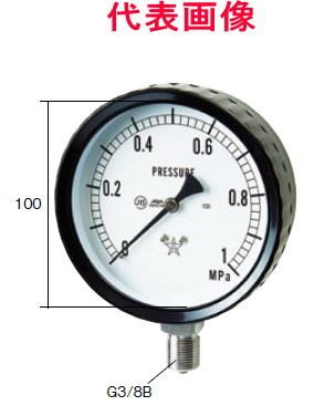 右下精器製造 ステンレス圧力計 A形立型 100径 2.00MPa