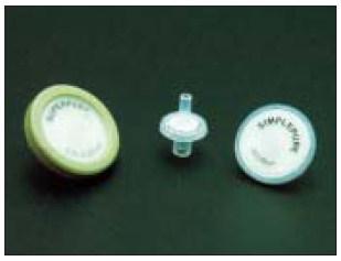 シリンジフィルター(100個入)セルロースアセテート サイズ:30mm、孔径:0.45μm