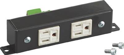 TRUSCO(トラスコ)立作業小型作業台 TFAE型用オプション 2口コンセント コード3m