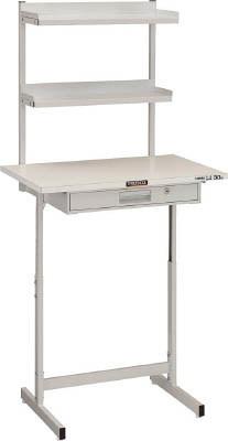 TRUSCO(トラスコ)小型作業ディスク 上棚付きタイプ 耐荷重20kg