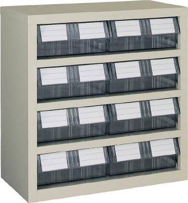 TRUSCO(トラスコ)引出しタイプパーツケース TM型 AS樹脂引き出しタイプ 4段4列