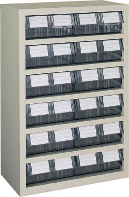 TRUSCO(トラスコ)引出しタイプパーツケース TM型 AS樹脂引き出しタイプ 6段2列