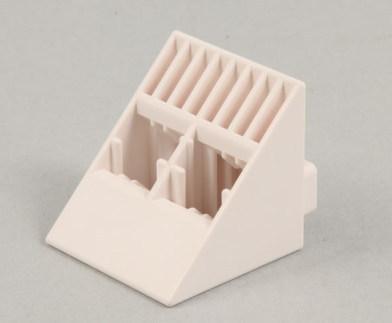 Artec(アーテック)ブロック 大きなLサイズブロック 三角 白 100pcs