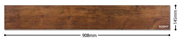 かんたん施工でラクラクリフォーム デコリカクリック 15枚入り(1.97m2) DC0007