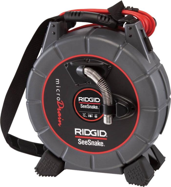 RIDGID(リジッド) 管内ビデオ検査カメラシステム シースネイクマイクロドレイン ケーブル長20m