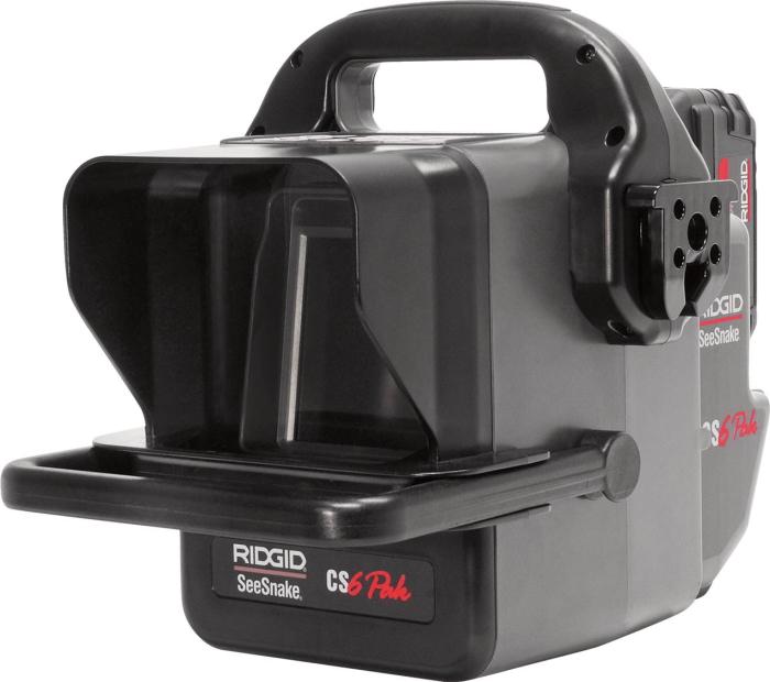 RIDGID(リジッド) シースネイクデジタル録画モニター CS6 Pak(パック)