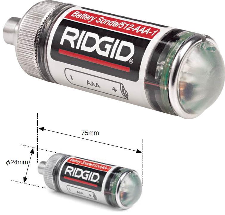RIDGID(リジッド) 小型発信器(リモートトランスミッター) 512Hz