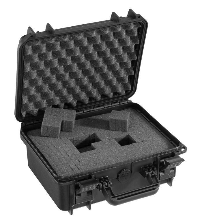 MAXcases(マックスケース) ブロックウレタン付防水ケース ブラック M300-BK