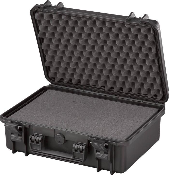 MAXcases(マックスケース) ブロックウレタン付防水ケース ブラック M430-BK