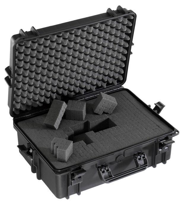 <title>MAXcases マックスケース 国内即発送 ブロックウレタン付防水ケース ブラック M505S-BK</title>