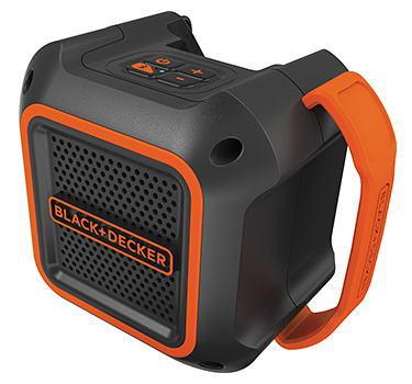 BLACK&DECKER18V Bluetooth スピーカー(本体のみ)充電器・充電池別売BDCSP18